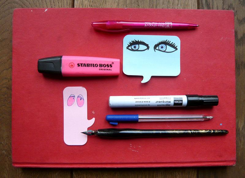 het vinden van je eigen pen en stem