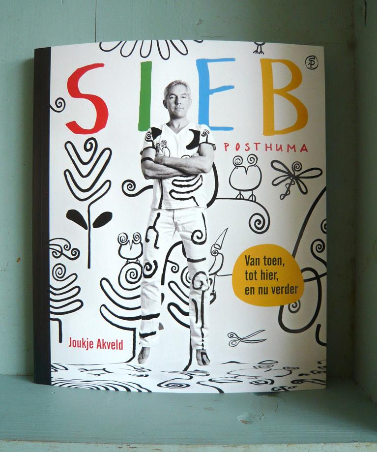 boek, omslag, Sieb Posthuma