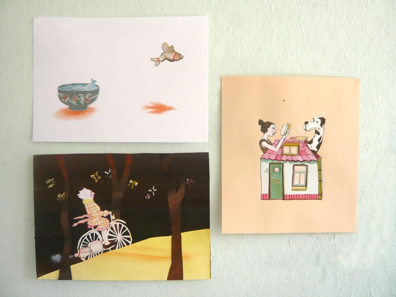 illustraties, tekeningen
