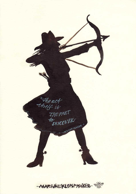 Poster met mooie quote