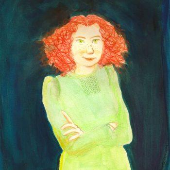 portret van Hannie Schaft