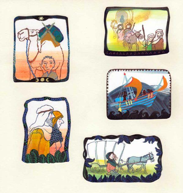 illustraties voor bijbelverhalen