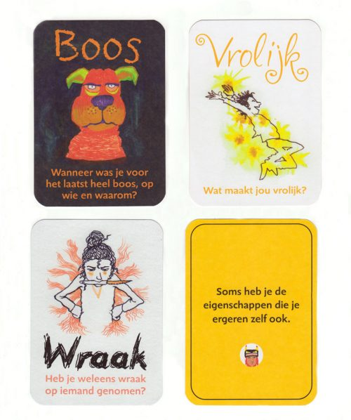 illustratie met emoties
