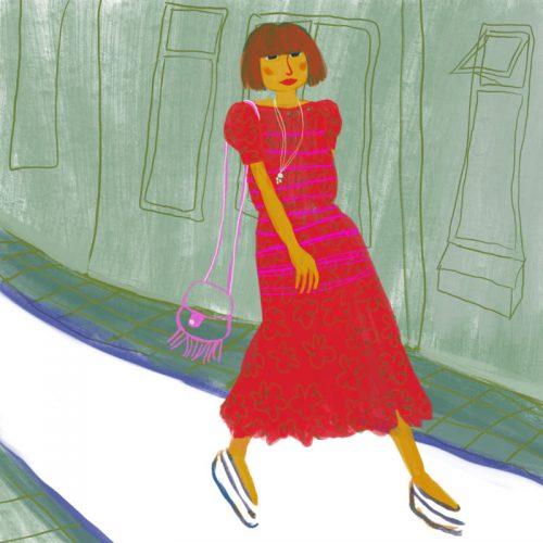 illustratie vrouw