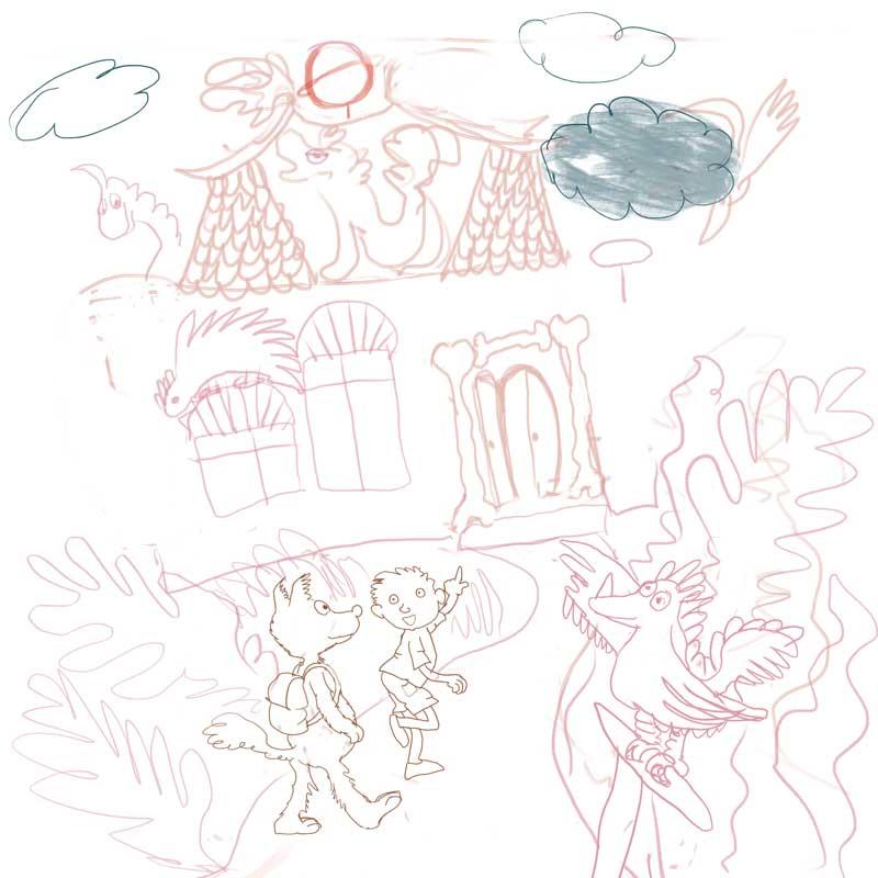 illustraties voor puzzels