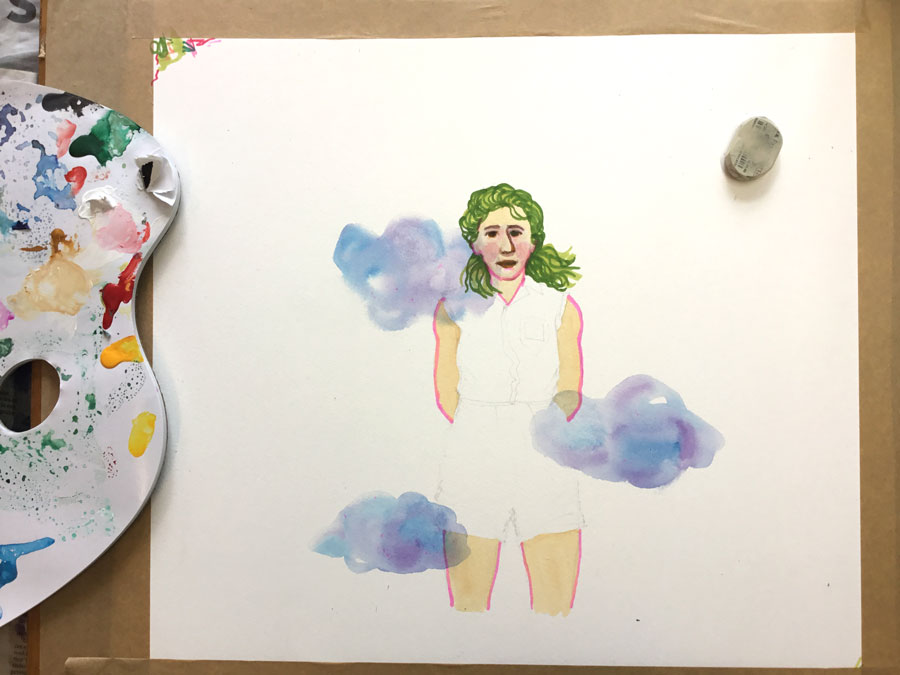 portret Foekje Dillema