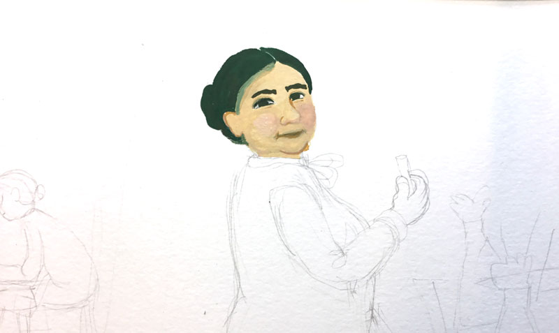 portret Johanna Westerdijk