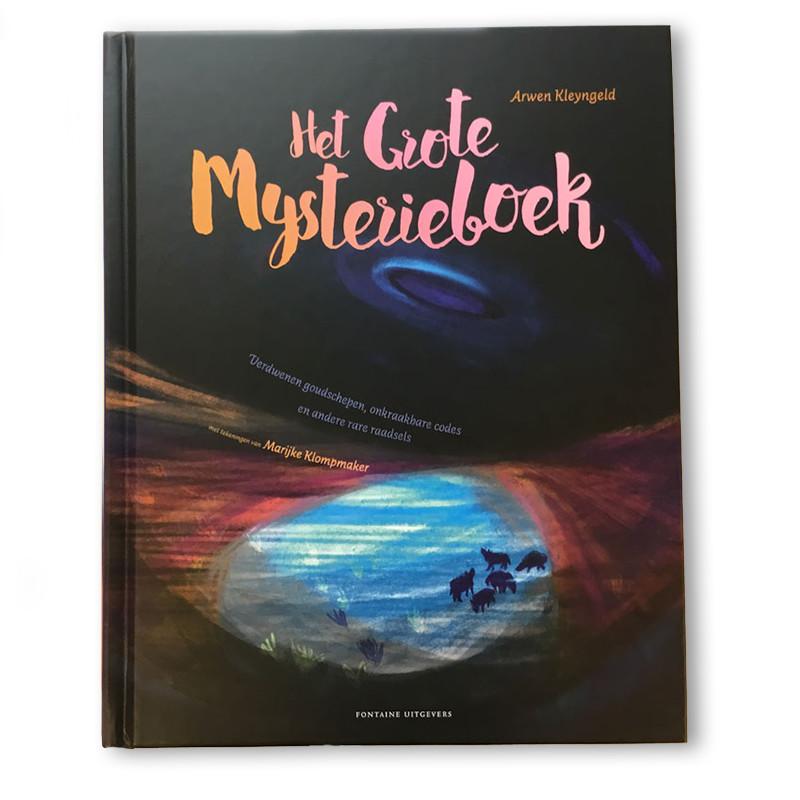 het grote mysterieboek illustratie Marijke Klompmaker