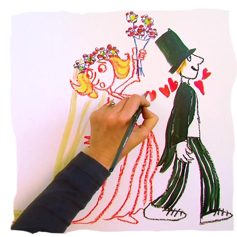 wat tekenje ik? Illustratie Marijke Klompmaker