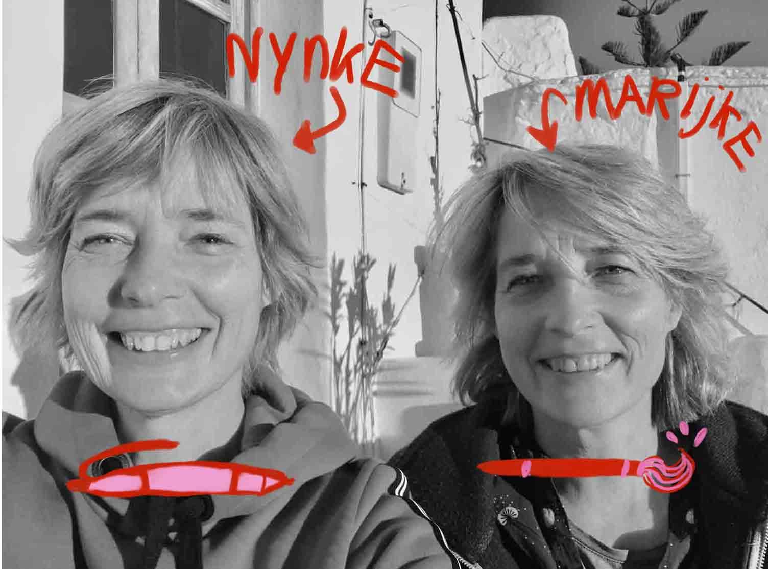 foto van Nynke en Marijke